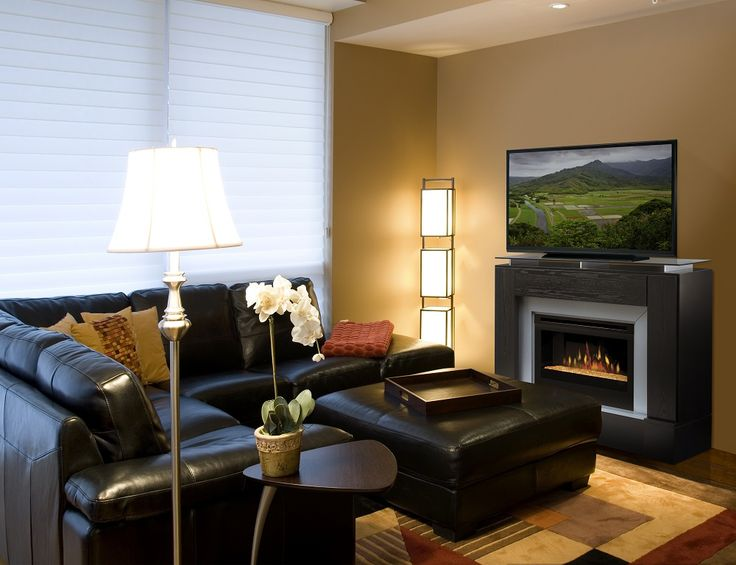Living Room Ideas With Electric Fireplace And Tv 32 best family room electric fireplaces images on pinterest