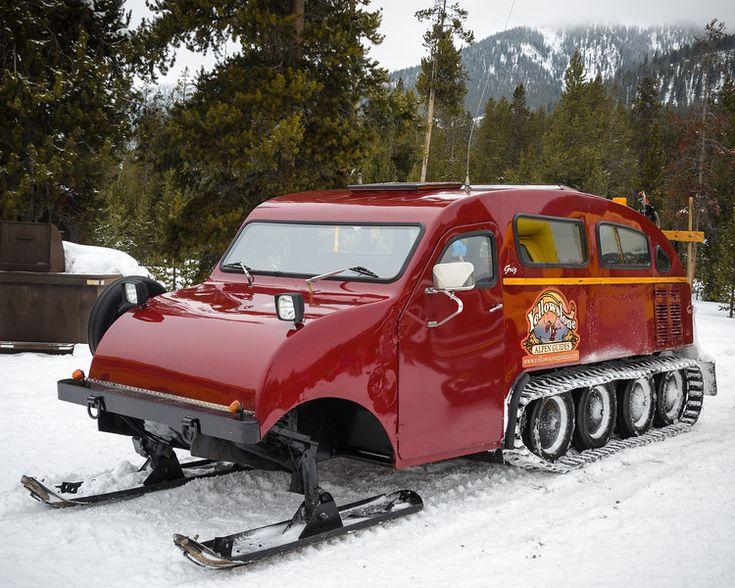 Yellowstone Snow Machines