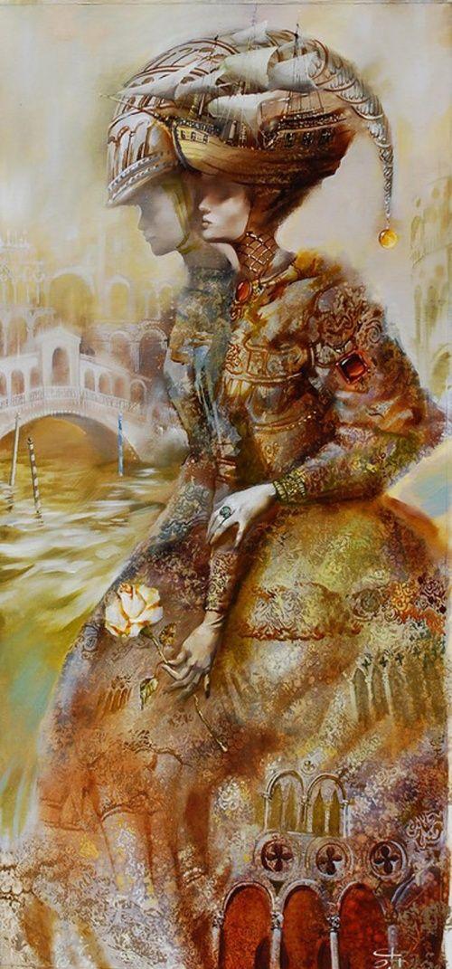 Венецианский карнавал Олега Чубакова (Oleg Tchoubakov)