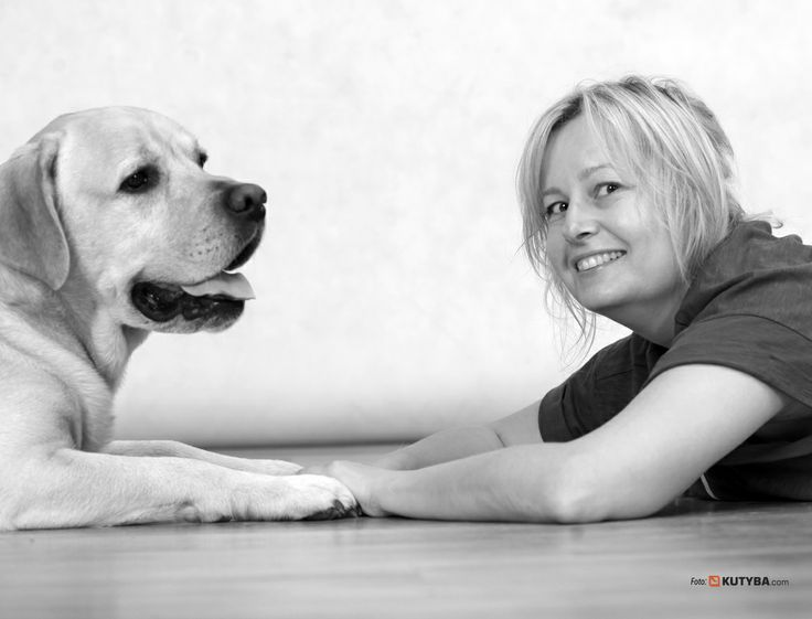 My after hours:) With Titus - my PR dog, my assistant at work and always a great friend. #PR #lab