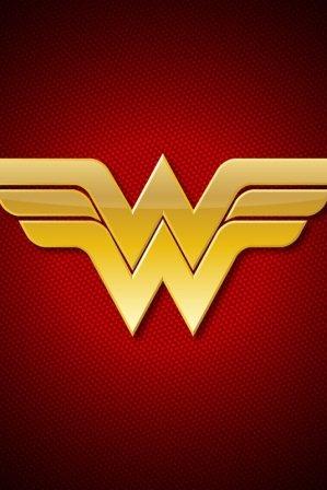 Dc Wonder Woman Logo Iphone Wallpaper Phone Wallpaper