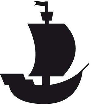 Piraten - Piratenschip Sticker bestellen? :: Dr.Sticker