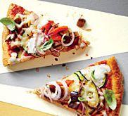 Cauliflower Pizza Crust Recipe | MyRecipes.com -VIDEO TOO