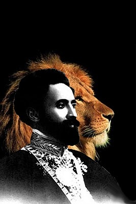 His Majesty, Haile Selassie I, Lion of Judah.
