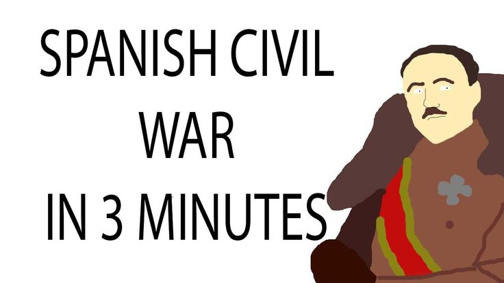 Spanish Civil War video with brief overview in English