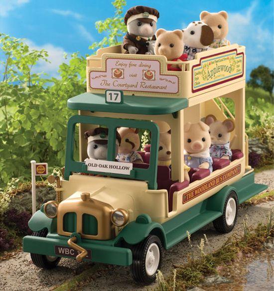 Sylvanian Families - Woodland Bus