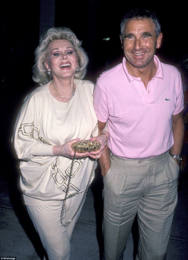 Three years later, Gabor married Von Anhalt (pictured together above) in 1986, as this was her longest marriage of the nine
