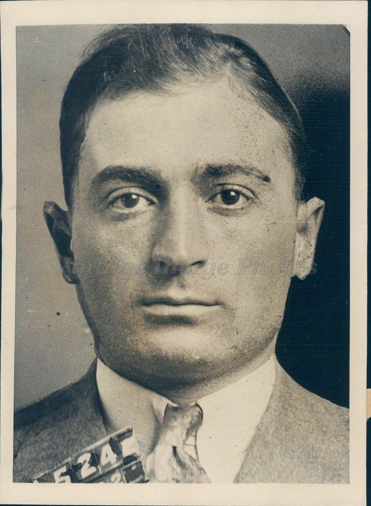 1937 Photo Anthony Indelicato Criminal Ny County Clerk Associate ...