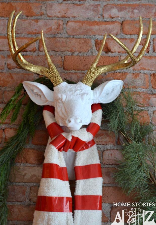 projects ideas dear head. diy deer head faux 665 best OH Deer  images on Pinterest Christmas decor
