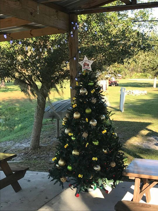 Its beginning to look a lot like Christmas! #GetDirty #OffRoad #TripAdvisor #ChristmasTree #ATV #MuckyDuck via Orlando Activities For Adults