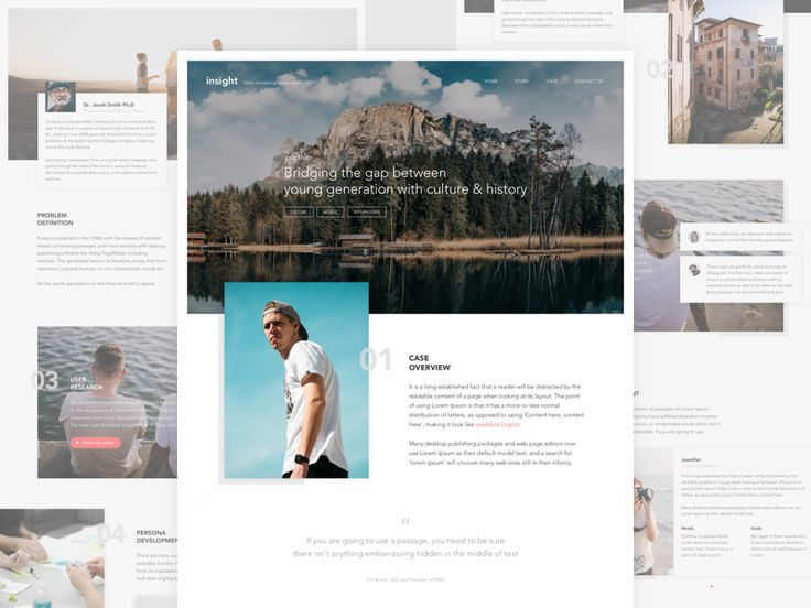 Exploration - Case Study Page by Thomas Budiman