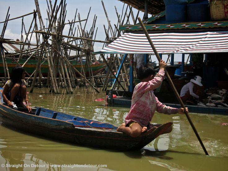 Tonle Sap Lake, Kampong Luong, Cambodia