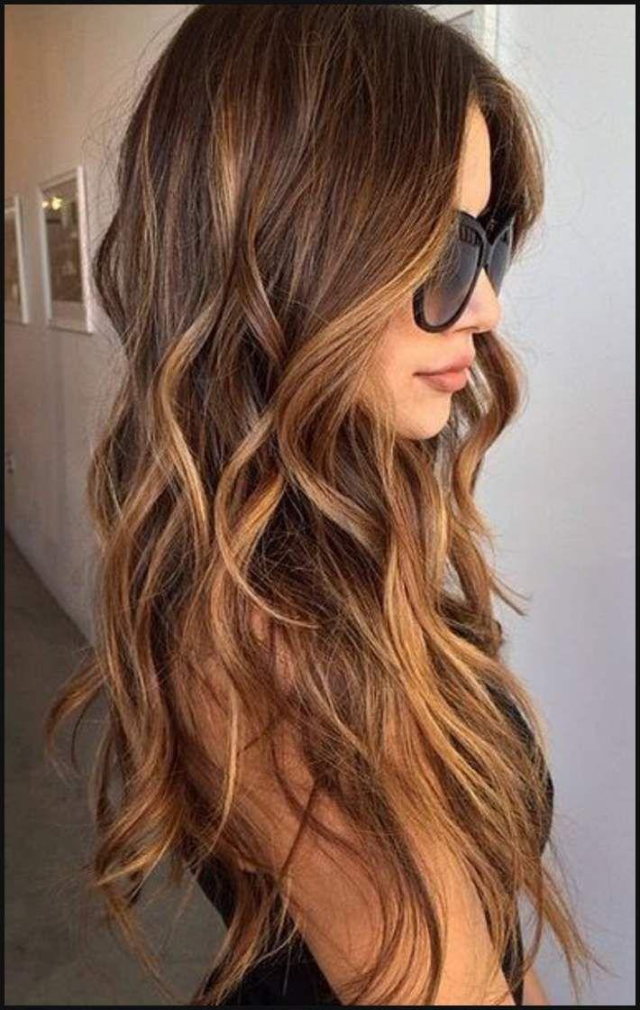 Braune Haare Mit Balayage Modische Haarschnitte Und Haarfärbungen