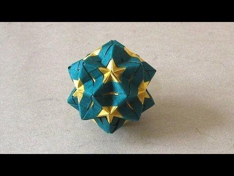Christmas Origami Instructions: Star Sonobe (Maria Sinayskaya)