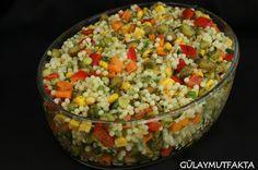 gülay mutfakta: Kuskus Salatası