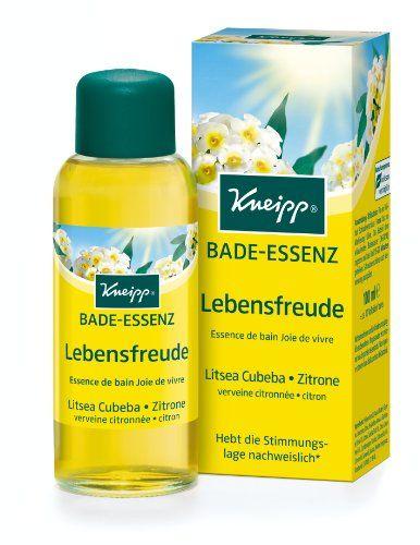 Kneipp Gesundheitsbad Lebensfreude Litsea Cubeba & Zitrone, 100 ml Kneipp http://www.amazon.de/dp/B002PAQUAM/ref=cm_sw_r_pi_dp_7eUivb0NDFA0H