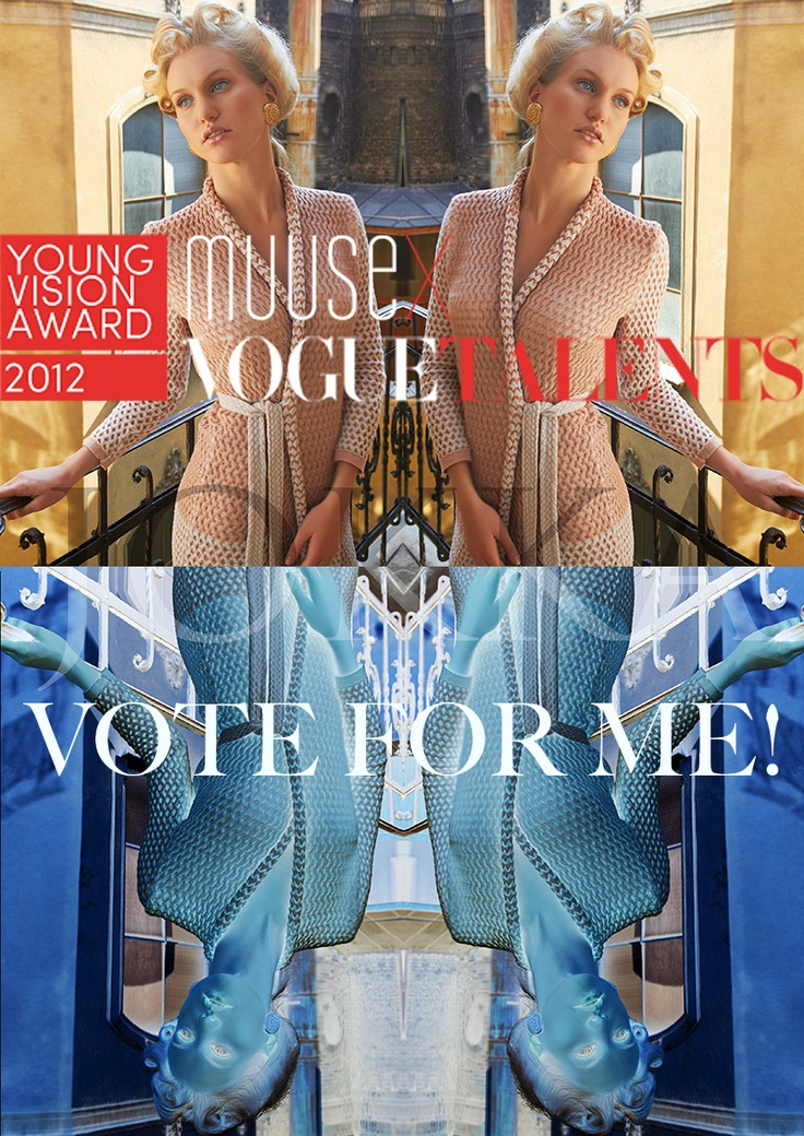 Vote for Pearl capsule knitwear collection. Vote Nr: 3866 www.muuse.com/... Last day to vote November 20, 2012