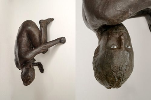 Lillith by Kiki Smith (detail on right), 1994.    Lilith is a biblical figure who has long been adopted by feminists. In Jewish lore, she is the first wife of Adam, exiled from the Garden of Eden for her unwillingness to bend to Adam's will, and is ultimately replaced by Eve. In this mythical story, she is cast out and becomes a demon bringing death and disease to those she encounters throughout history.