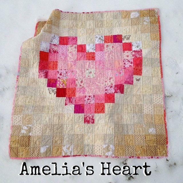 Heart Quilt Title Page By SarahWV Via Flickr