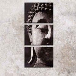 Peaceful Buddha! Njut av ditt hem med en 3-delars handmålad Buddha tavla. De mjuka och lugna färgerna smälter enkelt in i hemmet och ger dig det lilla extra du behöver för att trivas i din vardag. I priset ingår det att canvastavlan är uppspänd på en träram.  Länk till produkt: http://www.feelhome.se/produkt/peaceful-buddha/ #Canvas #olipainting #art #design #Painting #handpainted #interiordesign #canvastavla #canvastavlor #Buddha #kärlek #avslappnade #svartvit #Natur #Vardagsrum #Kontor