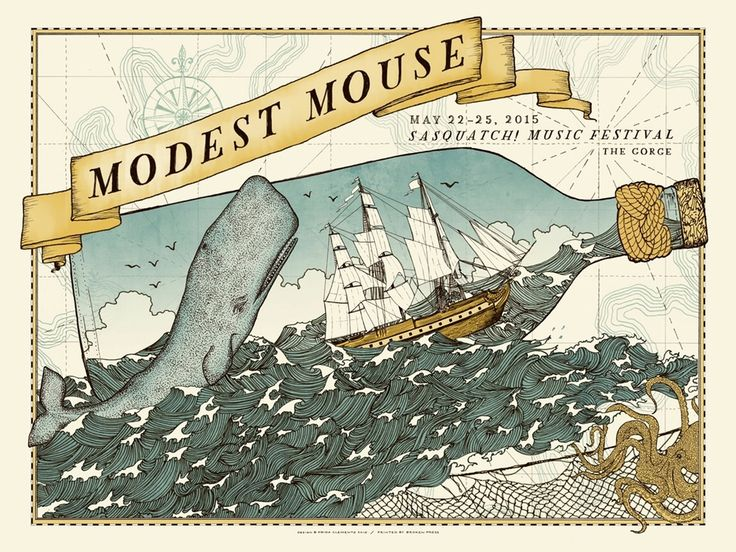 Image of Modest Mouse for Sasquatch! 2015