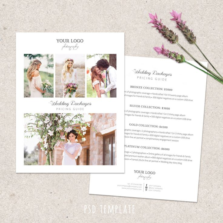 24 best Wedding images on Pinterest Engagement announcements - wedding price list