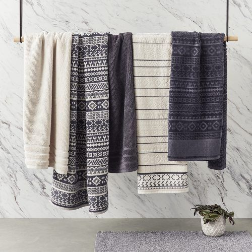 Home Republic Darcy Velour Towels, bathroom towels, towel