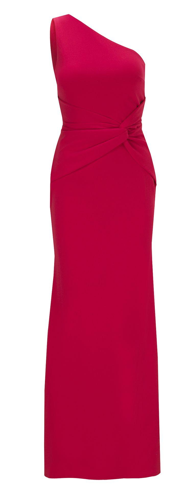 Jessica Wright Nikolina Red One Shoulder Maxi Dress £80.00 http://www.sistaglam.co.uk/jessica-wright-dresses/jessica-wright-nikolina-red-one-shoulder-maxi-dress-1752