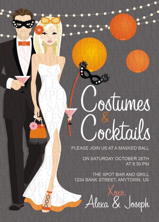 9 best Halloween Party Invitations images on Pinterest Adult