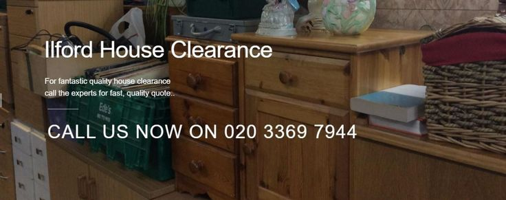 House clearance service at low cost in Ilford and Romford. If you prefer call us at 020 3369 7944 to speak to a member of our helpful staff.