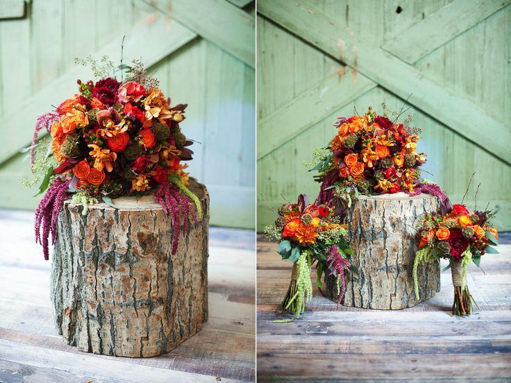 Utah wedding florist calie rose fall inspired