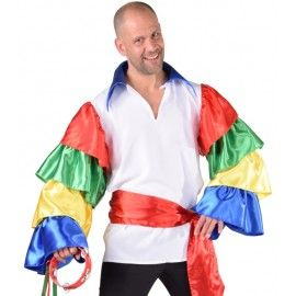 Déguisement chemise Hongrois homme luxe