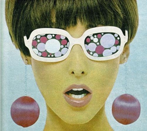60s crazy earrings!