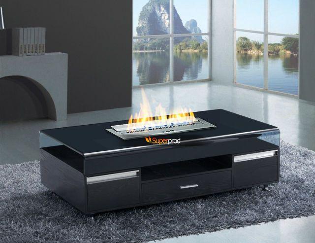 "Limited 28"" Bio Ethanol Burner Ventless Fireplace Insert Stainless Steel Heater"