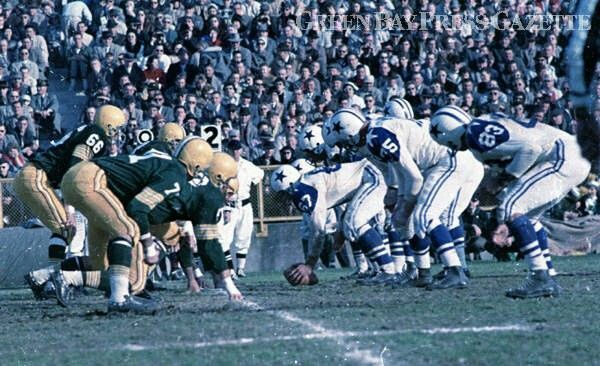 Packers-Cowboys 1960
