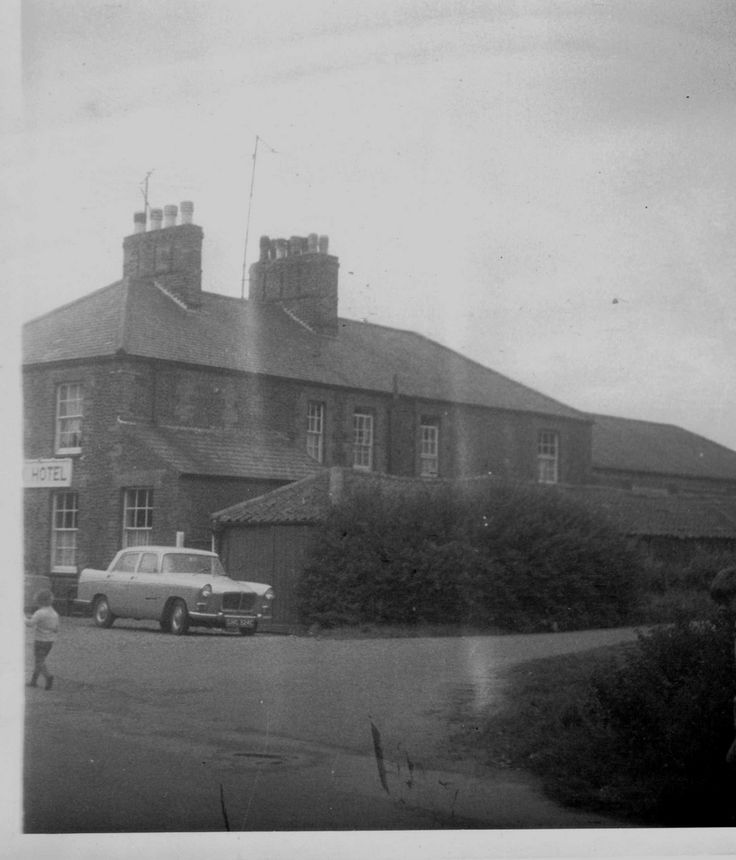 West Norfolk Hotel Heacham Station c1962-3
