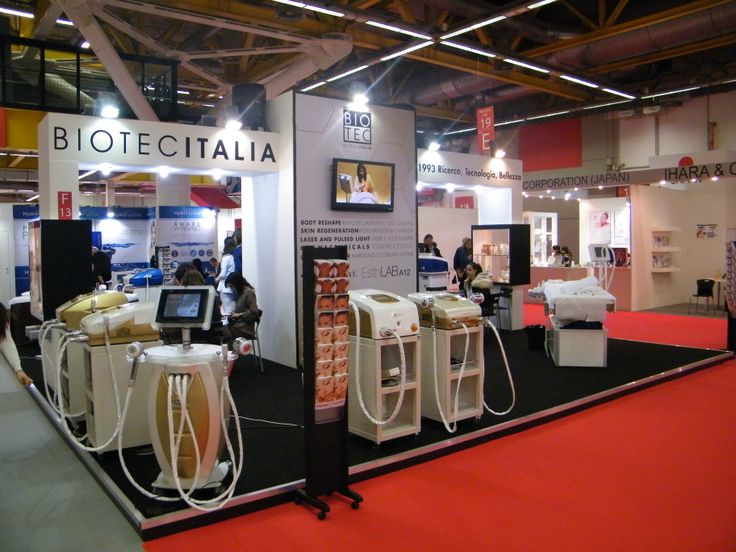 #Cosmoprof exhibition in Italy (2013). A big stand for our #professional #devices.