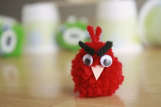 Pom Pom Balls Angry Birds Games for the kids and even adults!