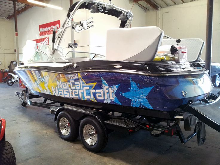 Nor Cal master craft boat wrap #prowraps