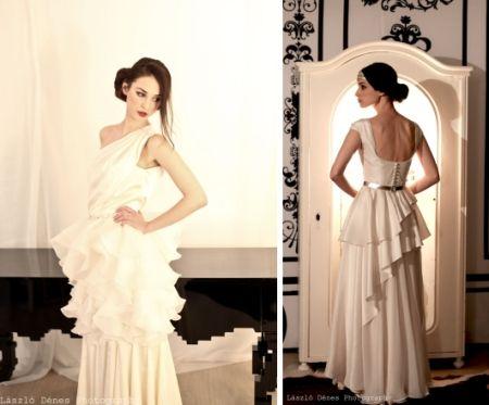 Mata Imola I Tervezői menyasszonyi ruhák a The Changeroom-ban I Bohém Esküvő
