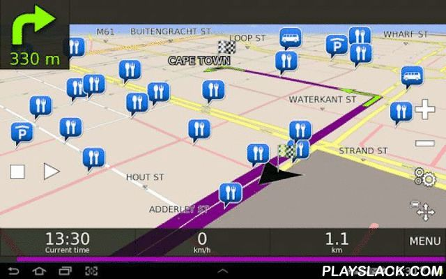 Desnav GPS Navigation (Navteq)  Android App - playslack.com , Why Desnav?- FREE map updates- FREE application updates- Maps are installed locally on your device (e.g. memory card)- Desnav will not use your mobile data as it does not need to download maps as you drive- Simply download, install and enjoy the FREE 7 Day Trial or purchase a full version license at www.desnav.comQuick Installation Guide- Install Desnav from Google Play- Launch Desnav Navigation- Some devices will ask that you…