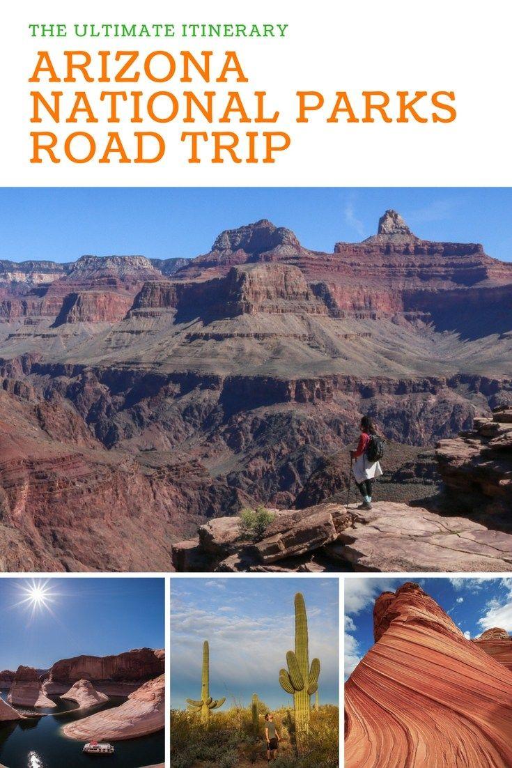 Arizona National Parks Road Trip Itinerary