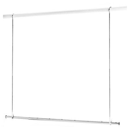 Adjustable Closet Rod Extender Room Essentials White