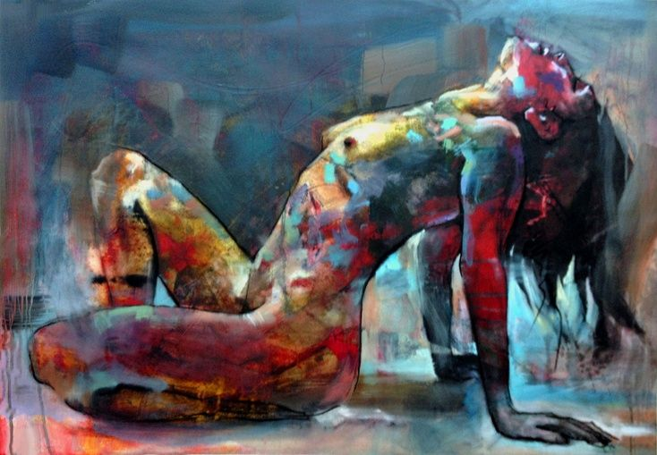 ARTFINDER: Life Model by Anthony Barrow - Mixed media representational artwork from life drawings