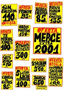ANUNCIANT: Ajuntament de Barcelona PEÇA: Cartell Festa La Mercè Autor: Antonio Miralda ANY: 2001