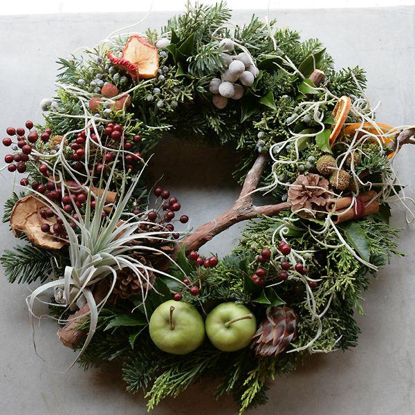 Fresh Christmas Wreaths   Fresh Christmas Wreath   フレッシュ・クリスマス・リース