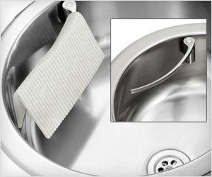 Magnet Kitchen Sinks 7 best holder for kitchen towel rag for stainless steel sink holder for kitchen towel rag for stainless steel sink attaches using magnet workwithnaturefo