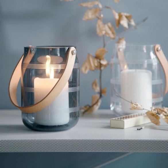 Omaggio Glass Lantern Clear / Omaggio / New