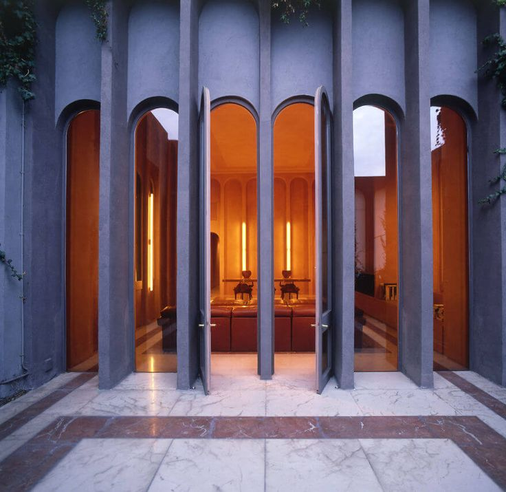 Architect Has Transformed An Old Cement Factory Into His