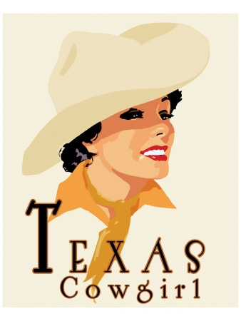 I wanna be a Texas cowgirl!!